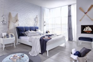 Trendy bedroom. See the most beautiful bed