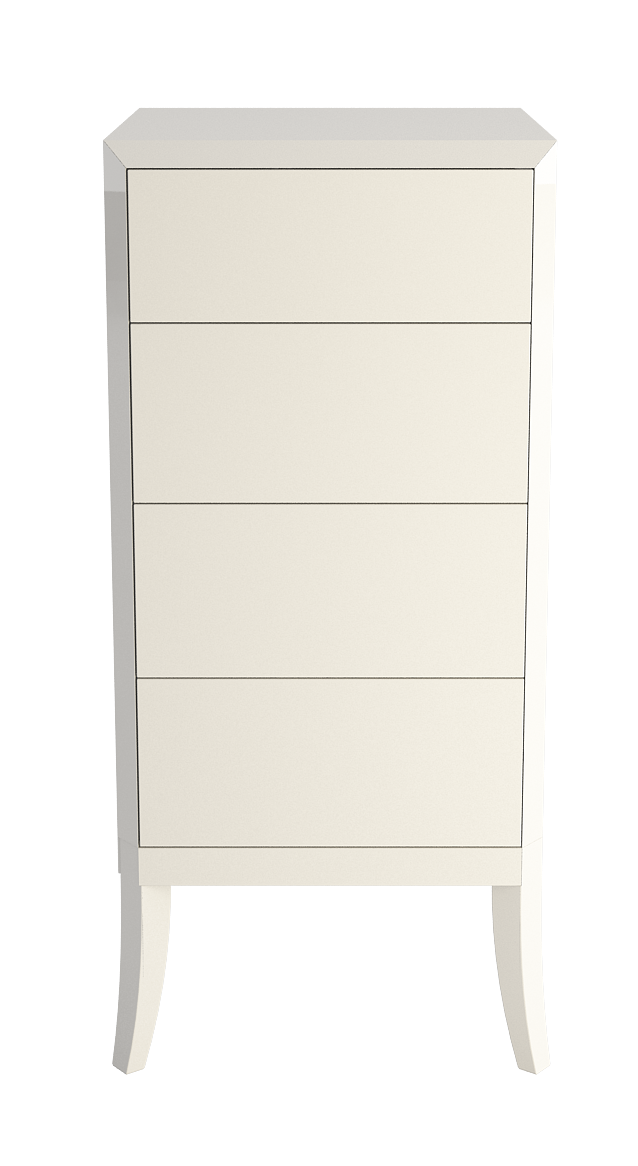 Dream enamel Chest of drawers high