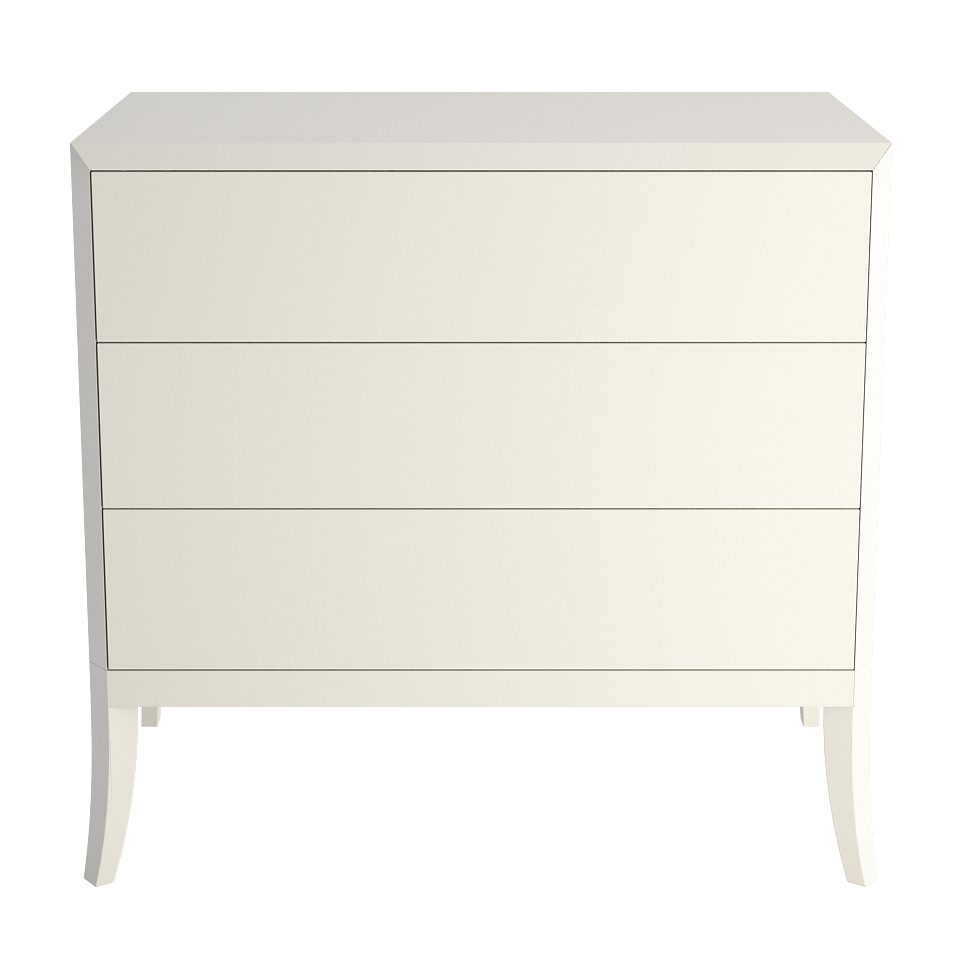 Dream enamel Chest of drawers low