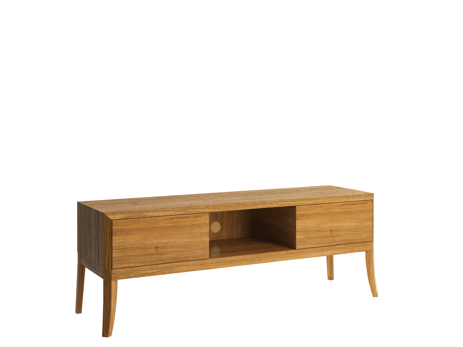 Dream TV cabinet on legs low
