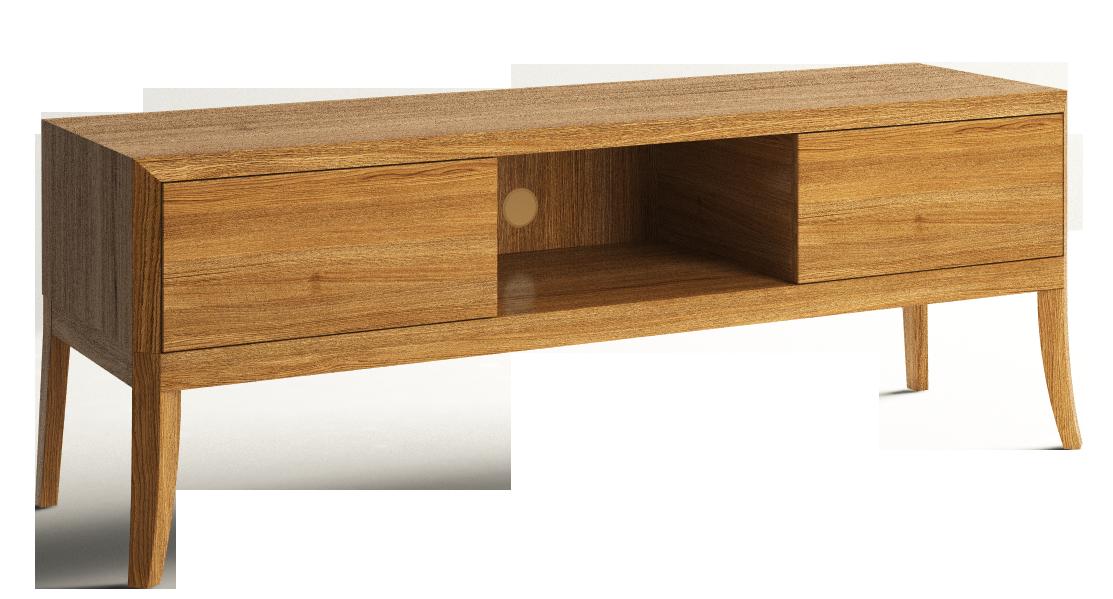 Dream TV cabinet on legs low