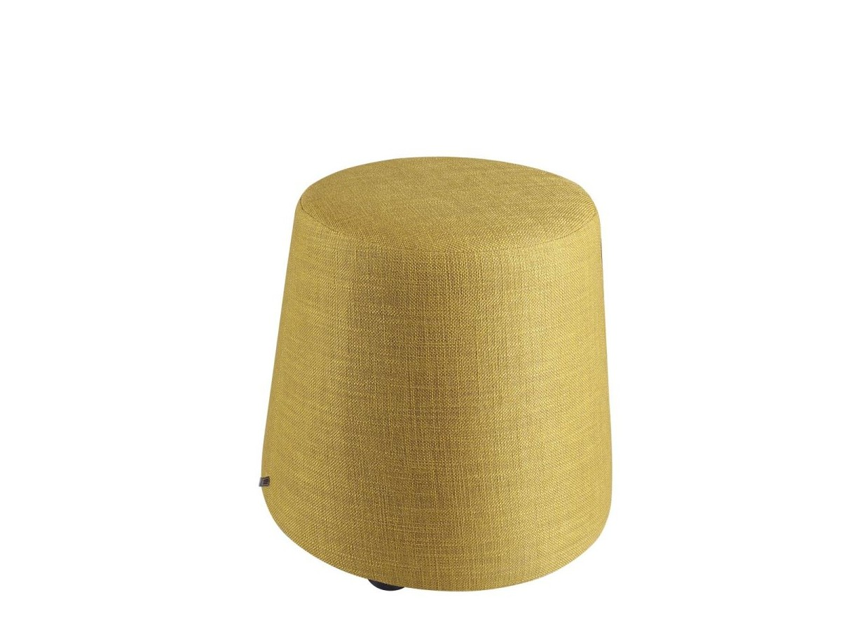 PUFF Pouf small in fabric or leather