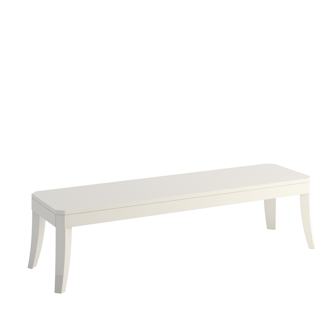 Dream enamel Bench with top